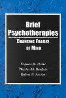 Brief Psychotherapies  Changing States of Mind