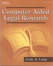 Computer Aided Legal Research