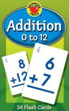 Addition 0 to 12 Flash Cards