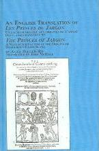 """An English Translation of """"the Princes of Jargon"""" by Alice Becker-Ho"""