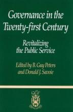 Governance in the Twenty-first Century