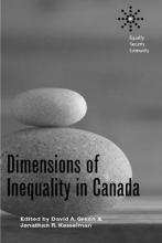 Dimensions of Inequality in Canada