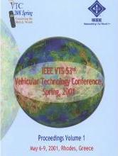 2001 IEEE 52nd Vehicular Technology Conference (Vtc 2001 - Spring)