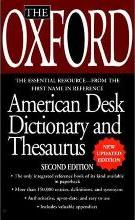 The Oxford American Desk Dictionary Andthesaurus, Second Edition