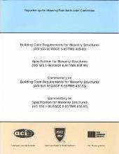 Building Code Requirements for Masonry Structures (ACI 530-95/ASCE 5-95/TMS 402-95)
