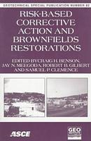 Risk-based Corrective Action and Brownfields Restoration