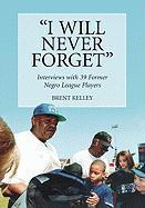 I Will Never Forget