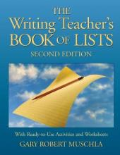 Writing Teacher's Book of Lists with Ready-to-use Activities and Worksheets