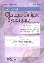 Journal of Chronic Fatigue Syndrome: Myalgic Encephalomyelitis/Chronic Fatigue Syndrome - Clinical Working Case Definition, Diagnostic and Treatment Protocols