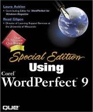 Using Corel WordPerfect 9 Special Edition