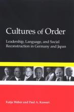 Cultures of Order