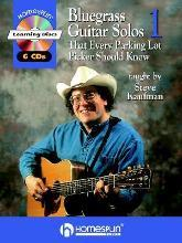 Bluegrass Guitar Solos That Every Parking Lot Picker Should Know (Series 1) 6 CD