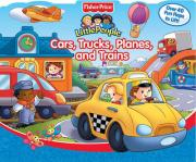 Fisher Price Cars, Trucks, Planes, and Trains Lift the Flap
