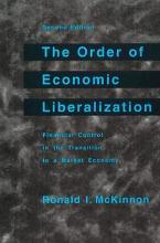 The Order of Economic Liberalization