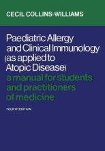 Paediatric Allergy and Clinical Immunology (as Applied to Atopic Disease)
