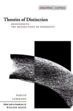 Theories of Distinction