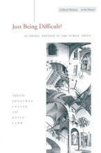 Just Being Difficult?