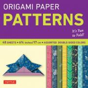 "Origami Paper Patterns 6 3/4"" 48 Sheets"