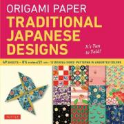 Origami Paper Traditional Japanese Designs Large