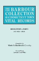 The Barbour Collection of Connecticut Town Vital Records. Volume 26
