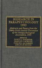 Research in Parapsychology 1993