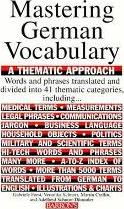 Mastering German Vocabulary: A Thematic Approach : Veronika Schnorr