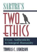 Sartre's Two Ethics