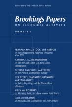 Brookings Papers on Economic Activity: Spring 2017
