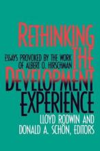 Rethinking the Development Experience