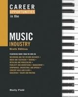 Career Opportunities In The Music Industry, 6Th Ed