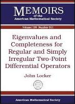 Eigenvalues and Completeness for Regular and Simply Irregular Two-point Differential Operators