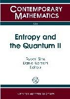 Entropy and the Quantum II