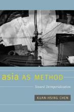 Asia as Method
