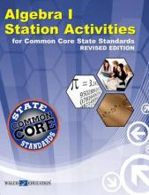 Algebra I Station Activities for Common Core State Standards