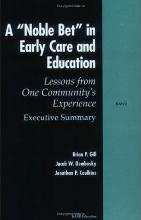 A Noble Bet in Early Care and Education