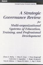 A Strategic Governance Review for Multi-organizational Systems of Education, Training and Professional Development