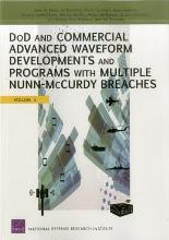 Dod and Commercial Advanced Waveform Developments and Programs with Nunn-McCurdy Breaches