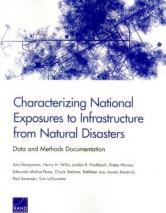 Characterizing National Exposures to Infrastructure from Natural Disasters