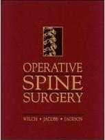 Operative Spine Surgery