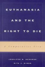 Euthanasia and the Right to Die