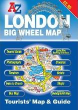 A-Z London Tourists Map and Guide