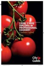 Level 2 NVQ Diploma in Professional Cookery Candidate Logbook