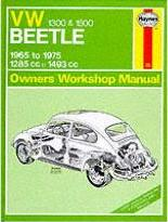Volkswagen Beetle 1300/1500 Owner's Workshop Manual