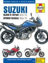 Suzuki DL650 V-Strom & SFV650 Gladius Service and Repair Manual