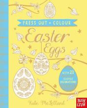 Press Out and Colour: Easter Eggs
