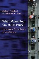 What Makes Poor Countries Poor?