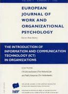 The Introduction of Information and Communication Technology (ICT) in Organizations: v. 5, no. 3