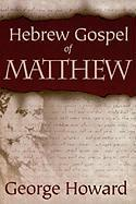 THE Hebrew Gospel of Matthew
