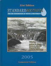 Standard Methods for the Examination of Water & Wastewater