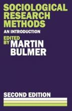 Sociological Research Methods